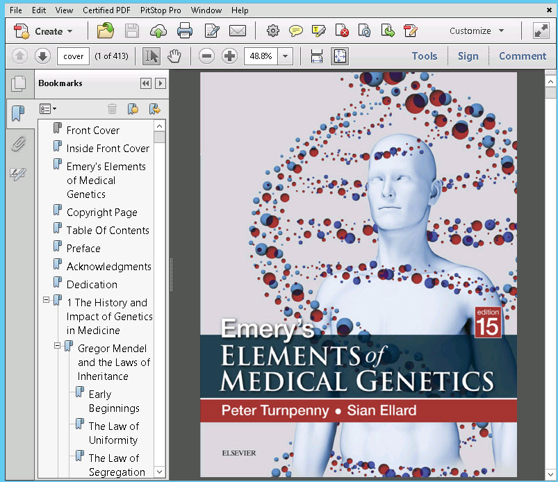sc1 Emery's Elements of Medical Genetics, 15e