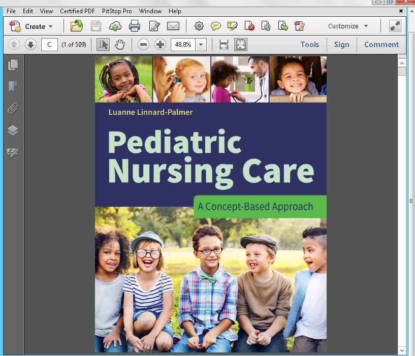 Pic 1 Pediatric Nursing Care: A Concept-Based Approach