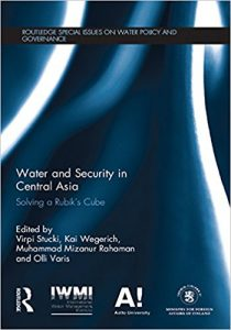 Water and security in Central Asia : solving a Rubik's cube Ebook