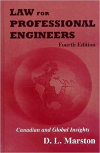 Law for Professional Engineers 4edition Ebook